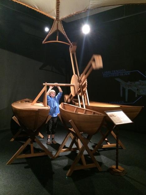 Da Vinci's dredging machine