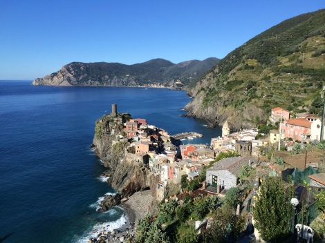 Morning hike toward Corniglia - an early start meant we were alone almost the whole time