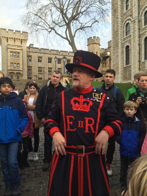 Yeoman Warder tour at the Tower of London