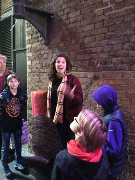 "Muggles on the Muggle Tour with Greta ""Granger"""