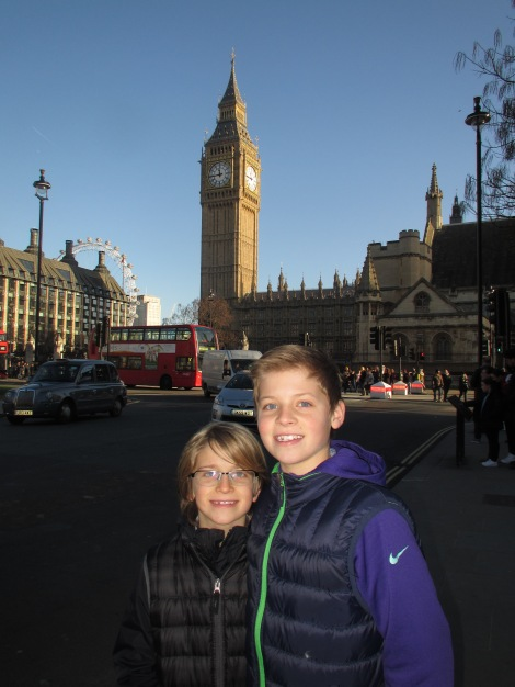 Big Ben with Big Boys