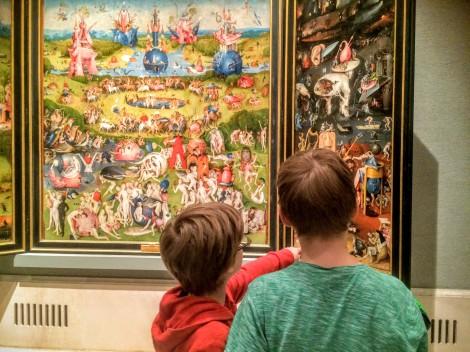 Bosch's Garden of Earthly Delights blew us away.