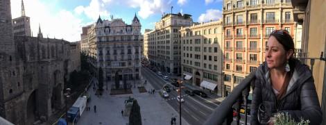 Our Barcelona balcony