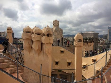 Gaudí's Casa Milá (La Pedrera) - the roof!