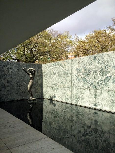 Mies van der Rohe's Barcelona Pavilion
