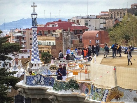 Park Güell... from the free part