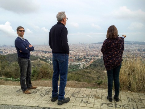 Walk & views with Barcelona friends