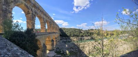 Roman aqueduct, the Pont du Gard