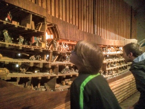 Checking out ship life at the Vasa Museum