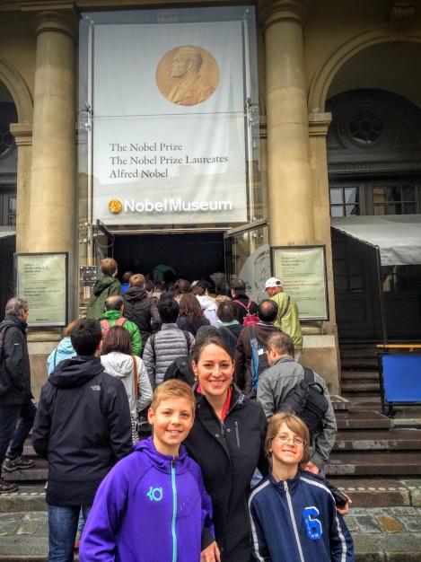 The inspiring Nobel Museum