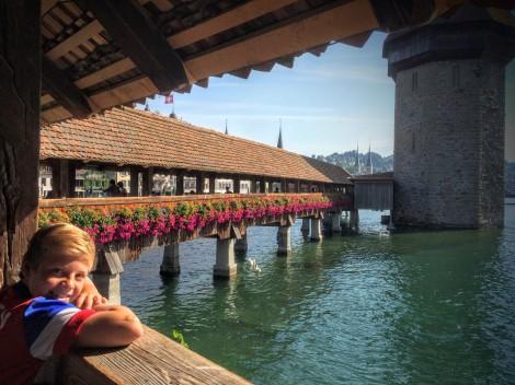 Breakfast in Luzern, Switzerland!