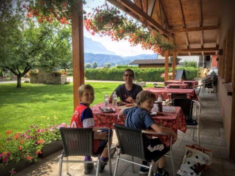 Lunch in Liechtenstein!