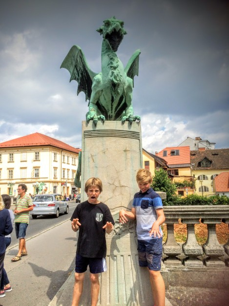 I am the Mother of Dragons (dragons are the symbol of Ljubljana).