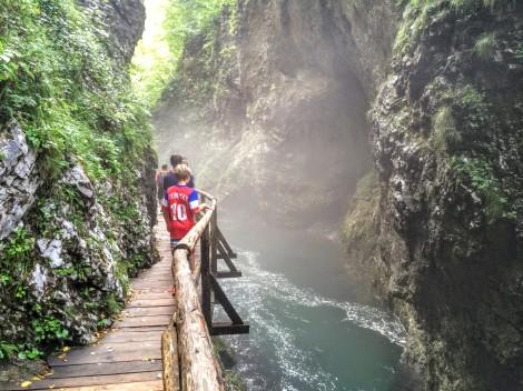 Vintgar Gorge hike